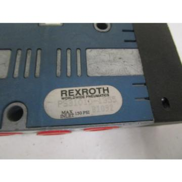 REXROTH PS31010-1355 PNEUMATIC VALVE AS PICTURED Origin NO BOX