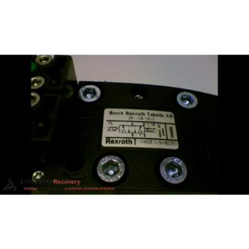 BOSCH REXROTH 261-108-120-0 HYDRAULIC VALVE 2 POSITION ISO SIZE 1, Origin #153092