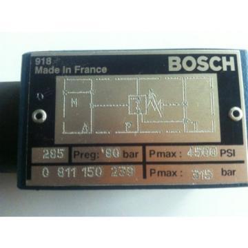 Bosch Dutch Germany 811 150 239 Hydraulic Pressure Reducing Valve
