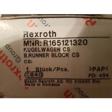 Bosch Rexroth Rollenwagen Führungswagen Linearführung  R165121320