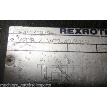 Rexroth Valve Z2DB6VC2-40/315V  Z2DB 6 VC2-40/315V 72DB