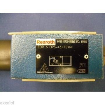 Relief Valve Rexroth ZDR-6-DP3-43/75YM