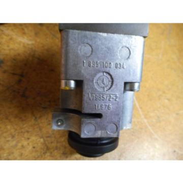 Bosch 0811404119 4WRP 6E-28S-1X/G24Z4/M Valve W/ 0831006057 Coil 9VDC 2,45A