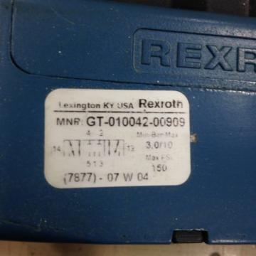 REXROTH CERAM GT-010042-00909 VALVE Origin U4