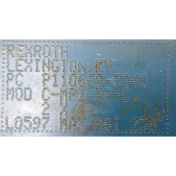 """REXROTH, USA Greece BOSCH, HYDRAULIC CYLINDER, P110669-3040, MOD C-MP1-PP-C, 2"""" X 4"""""""