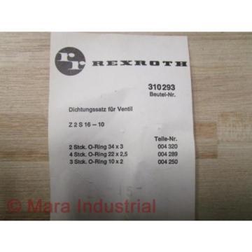 Rexroth Egypt France 310293 Kit