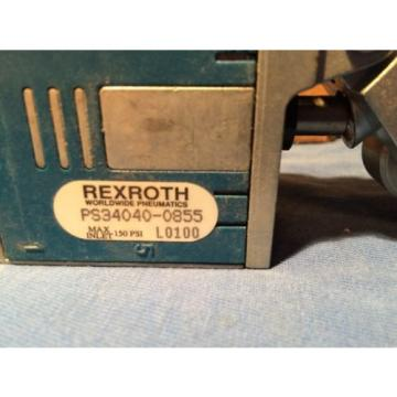 Bosch REXROTH CD-7 VALVE PS-034040-00855 4 Way / 2 Position   1/4#034; NPT roller