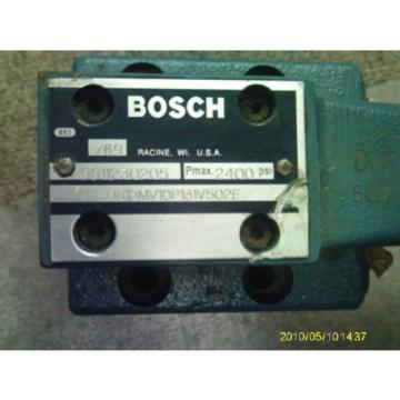 BOSCH 9811230205  # 081DMV10P131V502E 2400 PRESSURE REDUCING  VALVE