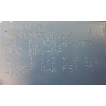 "REXROTH, Egypt Australia BOSCH, HYDRAULIC CYLINDER, P-200536-0064 MOD MP1-PP, 1-1/2 X 6-1/2"""