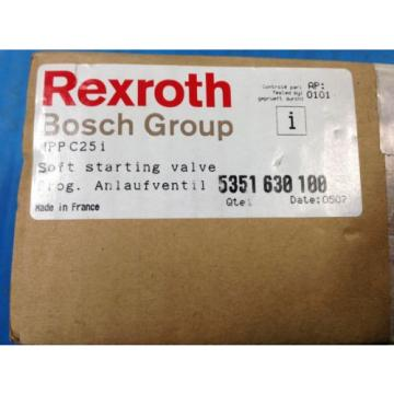 LOT OF 2 Origin REXROTH BOSCH MPP C25i SOFT STARTING VALVE 5351 630 100 U4