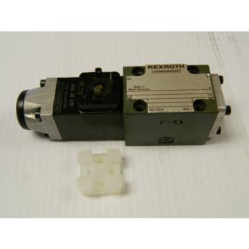 REXROTH DIRECTIONAL VALVE 4 WE 6 D51/AG24NZ4/T06 4WE6D51AG24NZ4T06 - USED