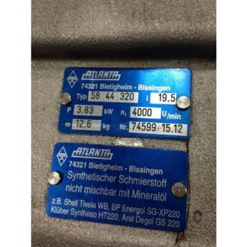 REXROTH China Germany INDRAMAT PERMANENT MAGNET MKD071B-061-KG1-KN W/ ATLANTA 58 44 320 USED1E