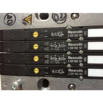 Origin REXROTH RMV04-DP,REXROTH 0820062051,0820062101 VALVE SYSTEM amp; MANUAL ,BOXYS