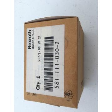 5811110300 581-111-030-0 Rexroth Air Valve 5/2 Single Solenoid Spring Return