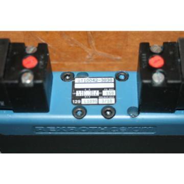 Rexroth Bosch Group Ceram Pneumatic Valve GT10042-3838, 150 PSI 110 VAC Origin