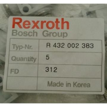 Rexroth Bosch R432002383 Flow Control Valve QR1-S-DBS-D014 Package of 5 - NOS