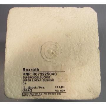 Bosch Rexroth Super Linear Bushing R0732-250-40 R073225040 NIB