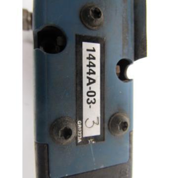 Rexroth Ceram L694 1444A-03-3 Pneumatic valve w/solenoid