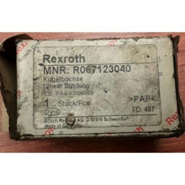 Rexroth R067123040 Linear Bushing