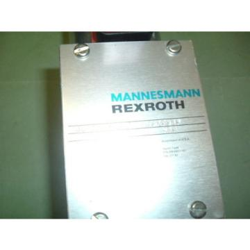 MANNESMANN REXROTH 4WE10G73 31 CG12N945S09 VALVE  Origin PACKAGED