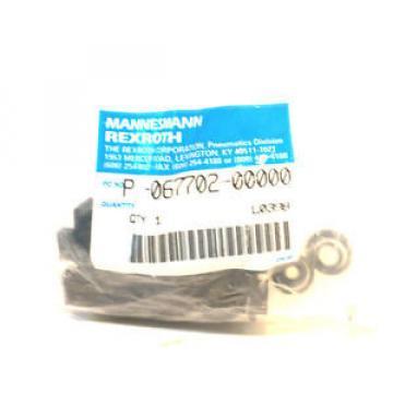 Origin REXROTH P-067702-00000 MANIFOLD VALVE P06770200000