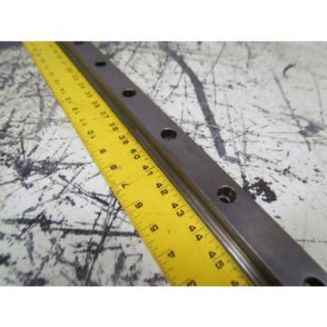 Rexroth 1621-32X-10 Star 35 63#034; Linear Guide Rail W/1 Bearing Block
