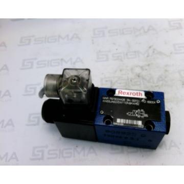 Rexroth R978024428 Directional Solenoid  Valve 4WE6JA62/EW110N9K4/62