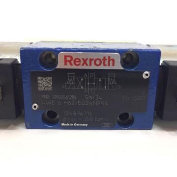 Control Valve 4WE6H62/EG24N9K4 Rexroth 4WE-6-H62/EG24N9K4 origin