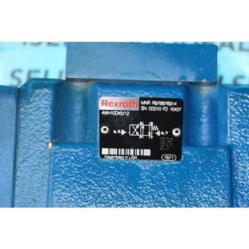 Rexroth R978876914 4W10D45/12 Hydraulic Valve origin