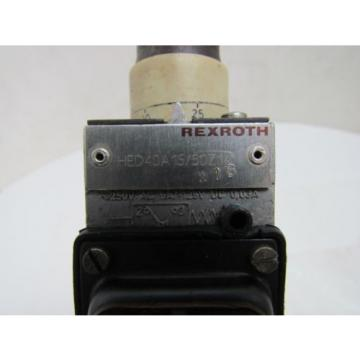 Rexroth HED 4 OA 15/50 Z14 W16 HED4OA15/50Z14 W16 Hydraulic Valve