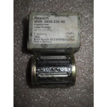 N1-3-1 1 Origin REXROTH 0658-230-40 LINEAR BUSHING