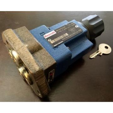 Rexroth 2-way flow control valve, R900205507, 2FRM 6 B36-33/15QRV