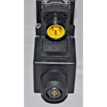 Mannesmann Rexroth 4WE6Y61 EW220N Hydraulic Directional Valve 9DK23L S043A-1348