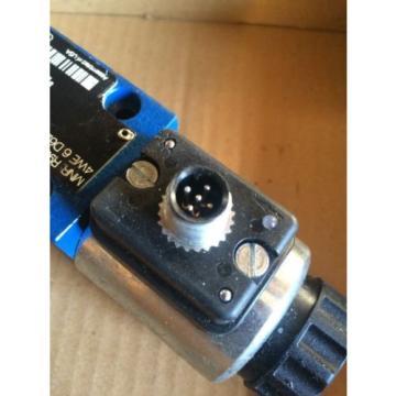 Rexroth Hydraulic Valve 4WE 6 D62/EG24N9K72L    R901235361