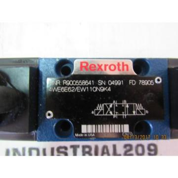 REXROTH 4WE6E62/EW110N9K4 HYDRAULIC VALVE Origin