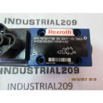 REXROTH 4WE6EA62/EW110N9K4/62 HYDRAULIC VALVE Origin
