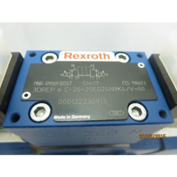 Rexroth 3DREP6C-20=25EG24N9K4/V amp; 4WRZ16E150-70 Valve Origin