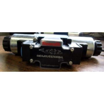 Origin REXROTH HYDRAULIC DIRECTIONAL CONTROL VALVE 4WE6J6X/EG24N9DAL