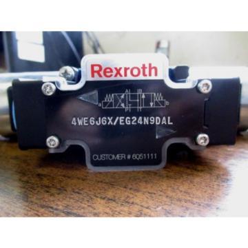 Origin REXROTH HYDRAULIC DIRECTIONAL CONTROL VALVE 4WE6J6X/EG24N9DAL