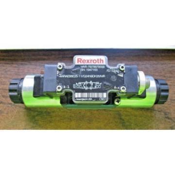 REXROTH HYDRAULIC CONTROL VALVE 4WRAEB6E25-11/G24N9DK26/MR