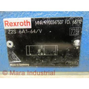 Rexroth Bosch R900347507 Check Valve Z2S 6A1-64/V - origin No Box