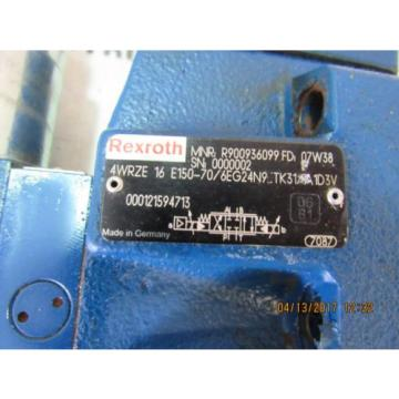 REXROTH 3DREPE6-C-2/25EG24N9K31/F1V HYDRAULIC VALVE  USED