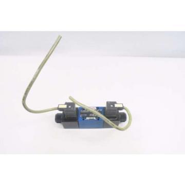 REXROTH 4WE6D62/OFEW110N9K4/62 120V-AC SOLENOID HYDRAULIC VALVE D550096