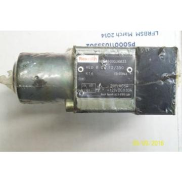 Origin REXROTH SOLENOID VALVE R900536033, HED8OA1X/350K14
