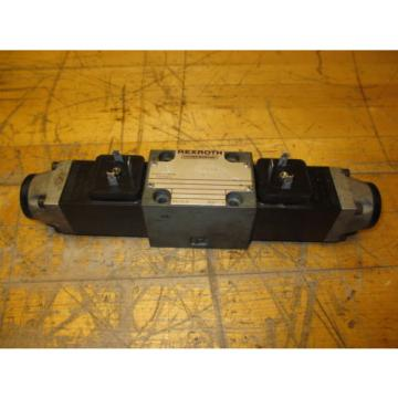Rexroth Hydronorma 4WE 6 E73-52/AG24N9Z4 Hydraulic Directional Valve