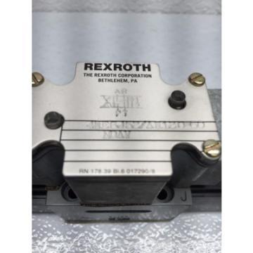 REXROTH 4WE6J5X/AW120-60NDAV HYDRAULIC SOLENOID VALVE B38
