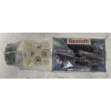 4WE6D62/EG24N9K4  BOSCH REXROTH R983030813  DIRECTIONAL CONTROL SOLENOID VALVE