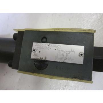 REXROTH ZDR 6 DA2-33/150Y HYDRAULIC PRESSURE REDUCING VALVE USED