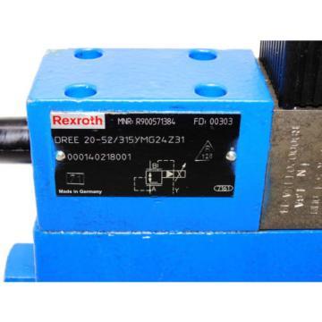 Rexroth Bosch valve ventil  DREE 20-52/315YMG24Z31 / R900571384  /   Invoice