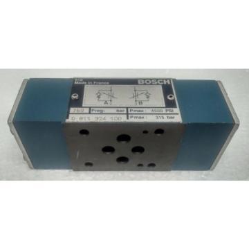 0811324100 BOSCH THROTTLE CHECK VALVE REXROTH HYDRAULIC 4500 PSI,315 BAR
